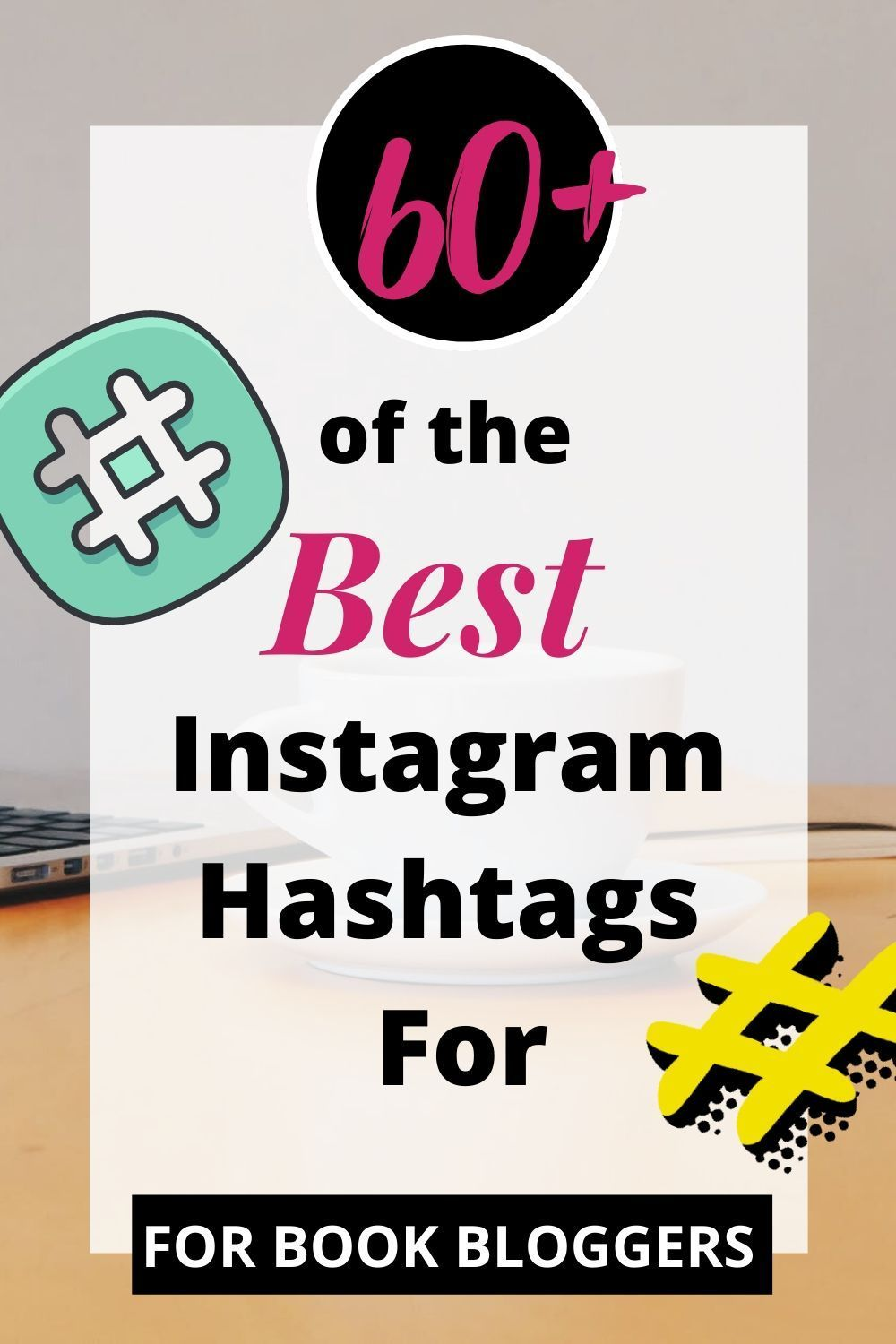 Top Hashtags for Books on Instagram, Twitter, Facebook in