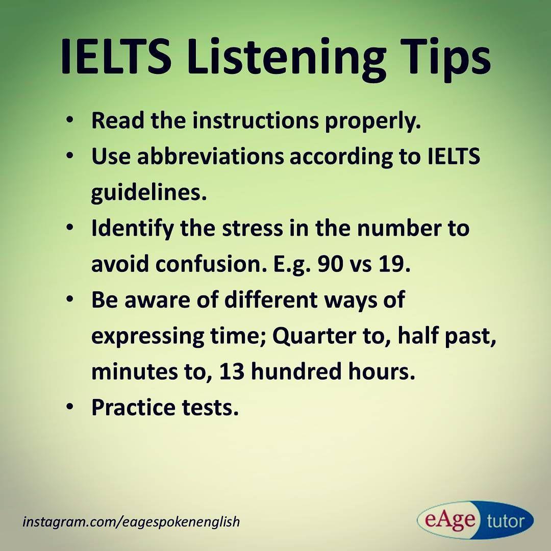 Ielts Listening Tips Ielts Ieltslistening Ieltstips Ieltstest Ieltstechniques