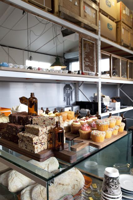 melbourne cafes photo blog - simple and pretty food display