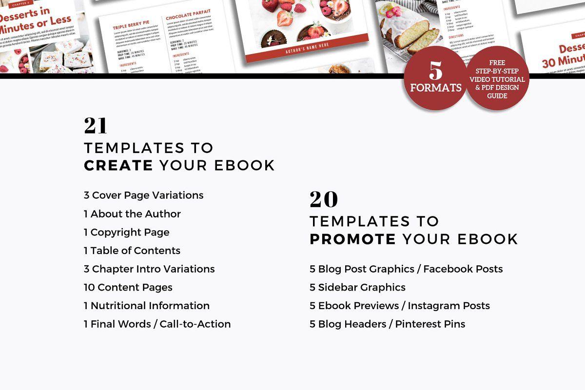 Canva Recipe Book Cookbook Template Cookbook Template Ebook Template Brand Board Template