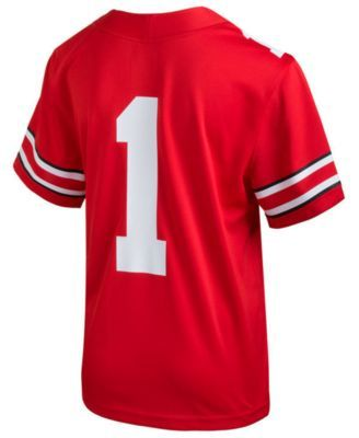 b27021295 Nike Ohio State Buckeyes Replica Football Game Jersey
