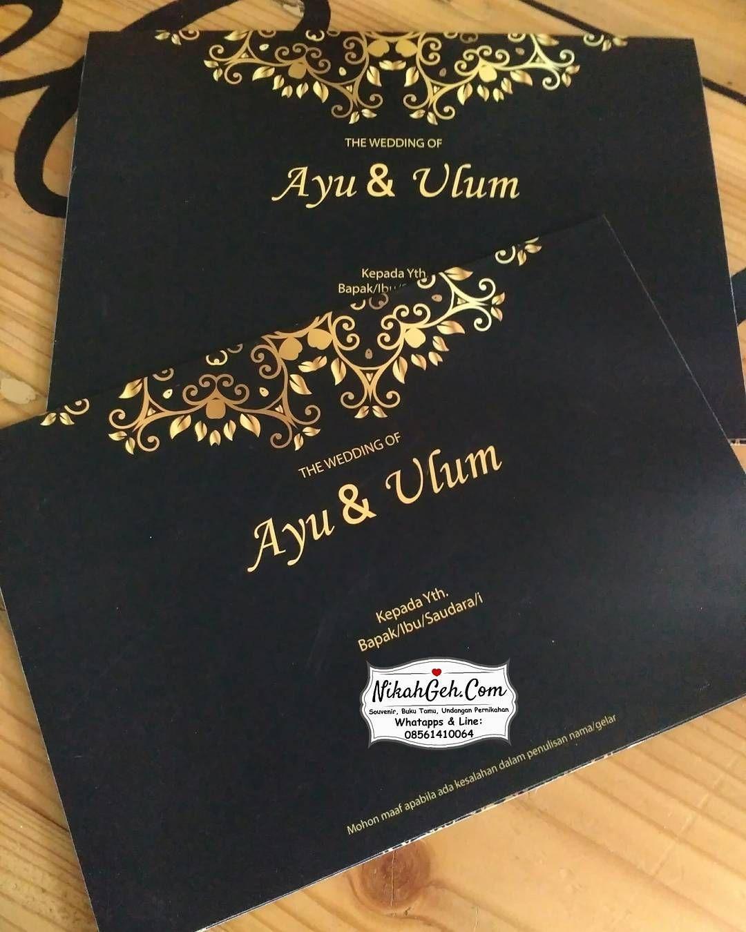 Https Nikahgeh Com Wedding Invitation Ayu Ulum Tanya Tanya Atau Info Lebih Lanju Wedding Card Sample Muslim Wedding Invitations Wedding Invitation Cards