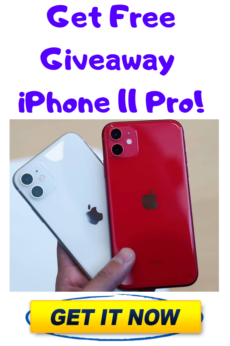 Iphone 11 Pro Free Giveaway Enter To Win A Brand New Iphone 11 Pro Get Your Chance To Win A Brand New Iphone 11 Pro F In 2020 Iphone New Iphone Free Iphone Giveaway