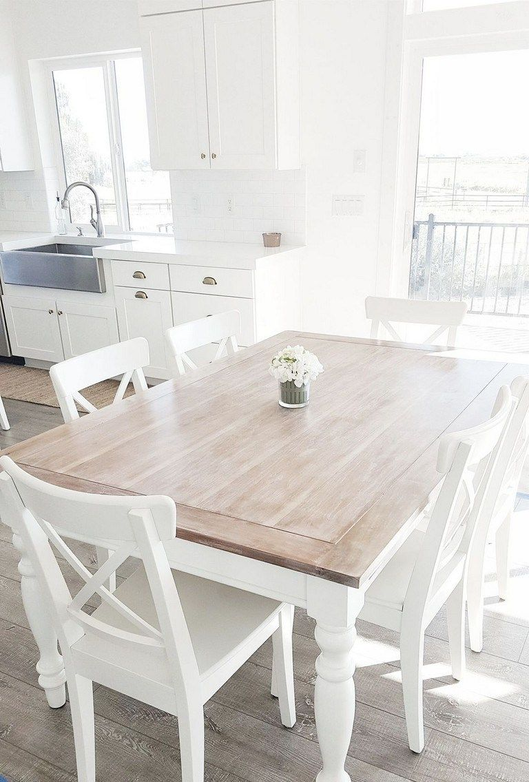 25+ Small shabby chic dining table Best Seller