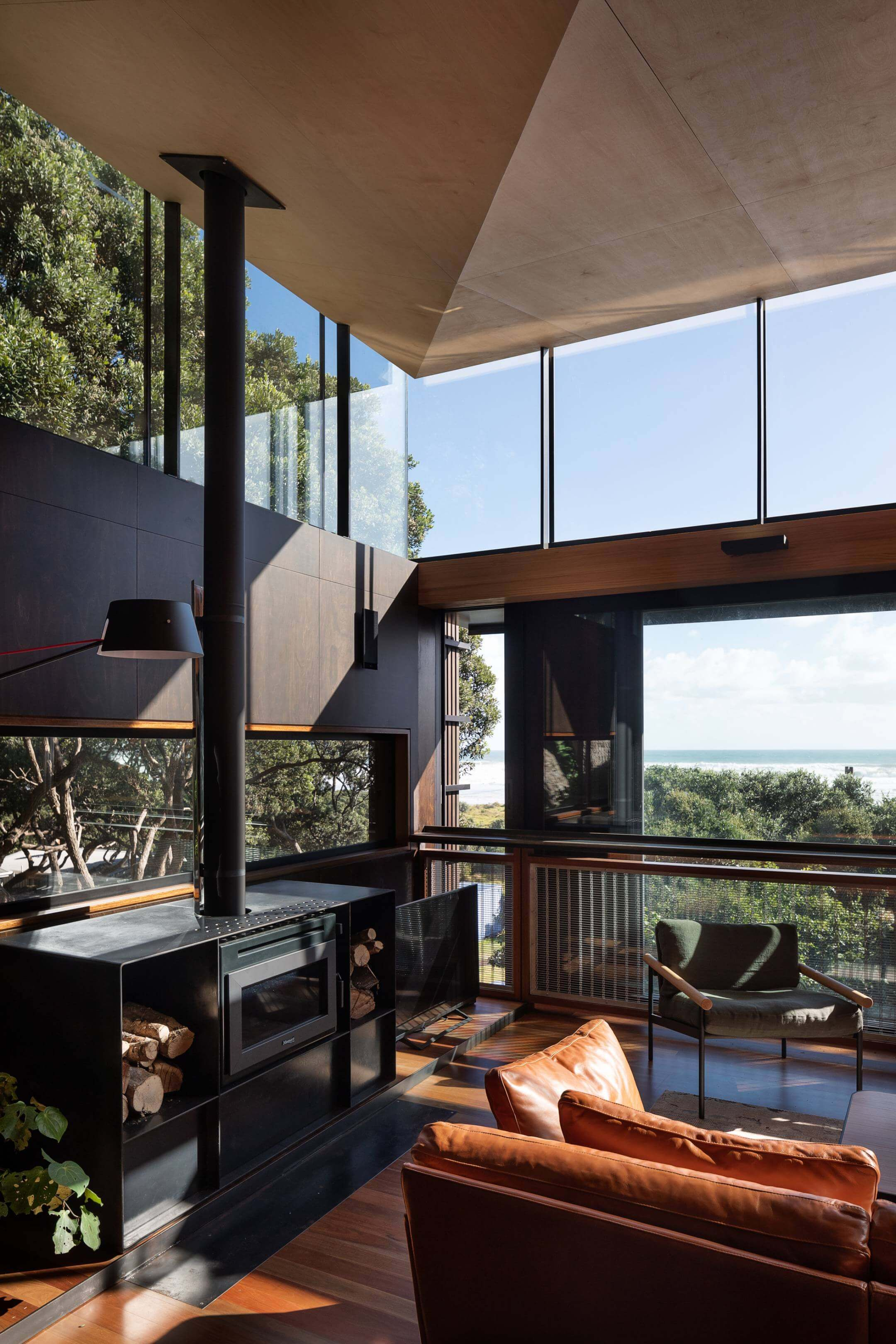 Herbst architects have designed the beautiful house named kawakawa and it is situated in also creative ways to masculine room interior design home decor rh pinterest