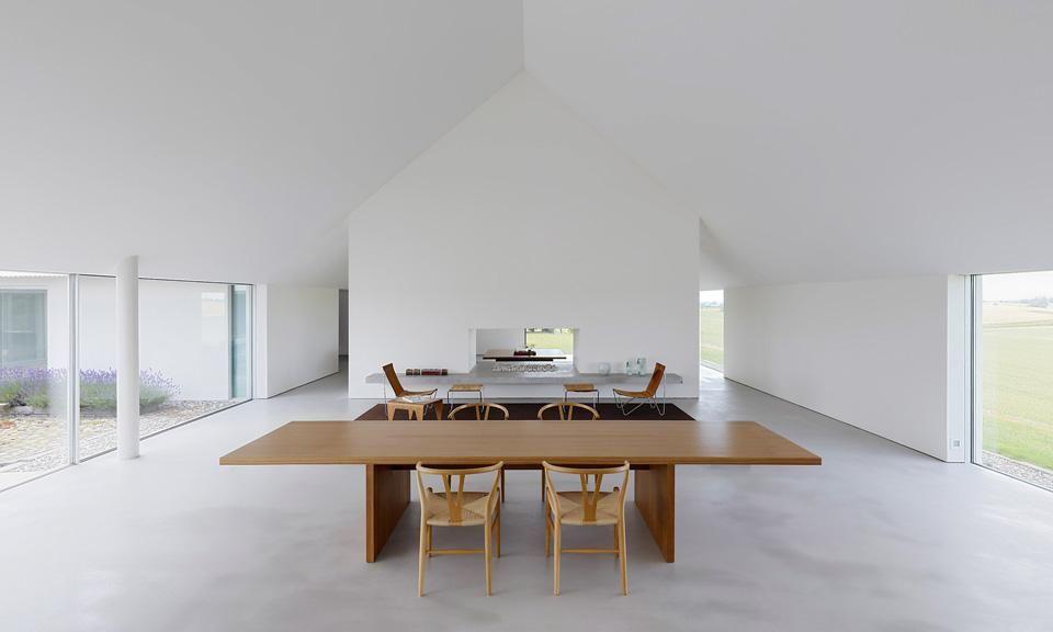 John pawson baron house sk ne sweden 2005 for Minimal home mobili