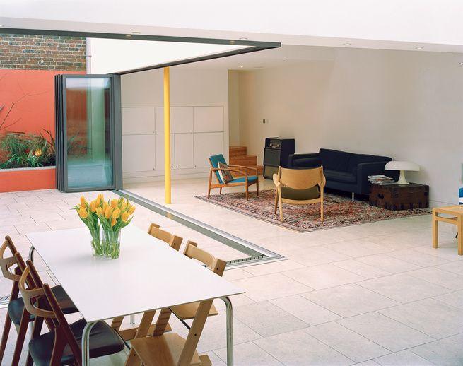 Dope Nana wall New House Pinterest Modern courtyard, Modern - kuche wohnzimmer offen modern