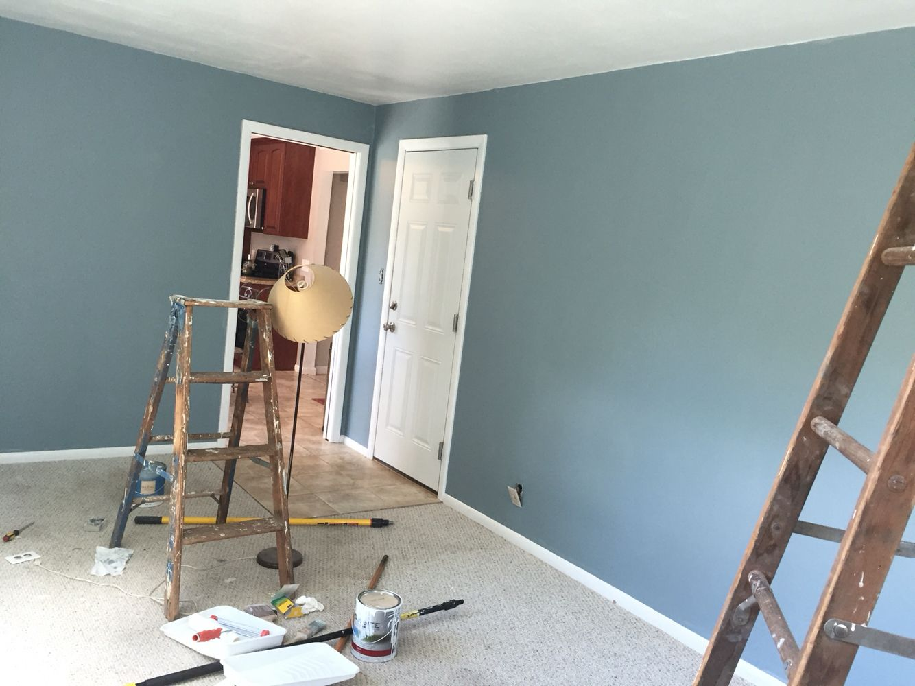 Benjamin Moore Colonial Collection Van Courtland Blue Dining Room Paint Colors Bedroom Paint Colors Blue Paint Colors