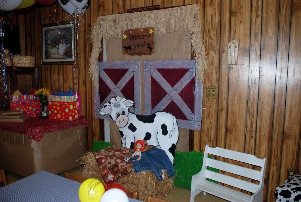 Jessie Cowgirl Birthday Party Ideas Photo 2 of 27