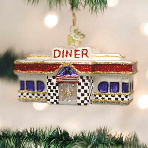 Diner Ornament by Old World Christmas