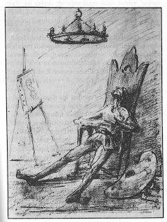 The Art of Pierangelo Boog: Alfred Kubin - illustrations for *Samalio Pardulus* 1911