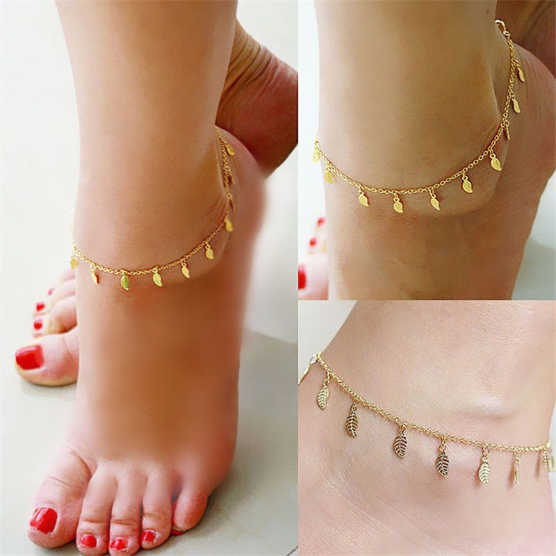 Anklets Jewelry & Watches Fish Wire Unique Fashion Green Color Crystal Anklet Ankle Bracelet New Gift