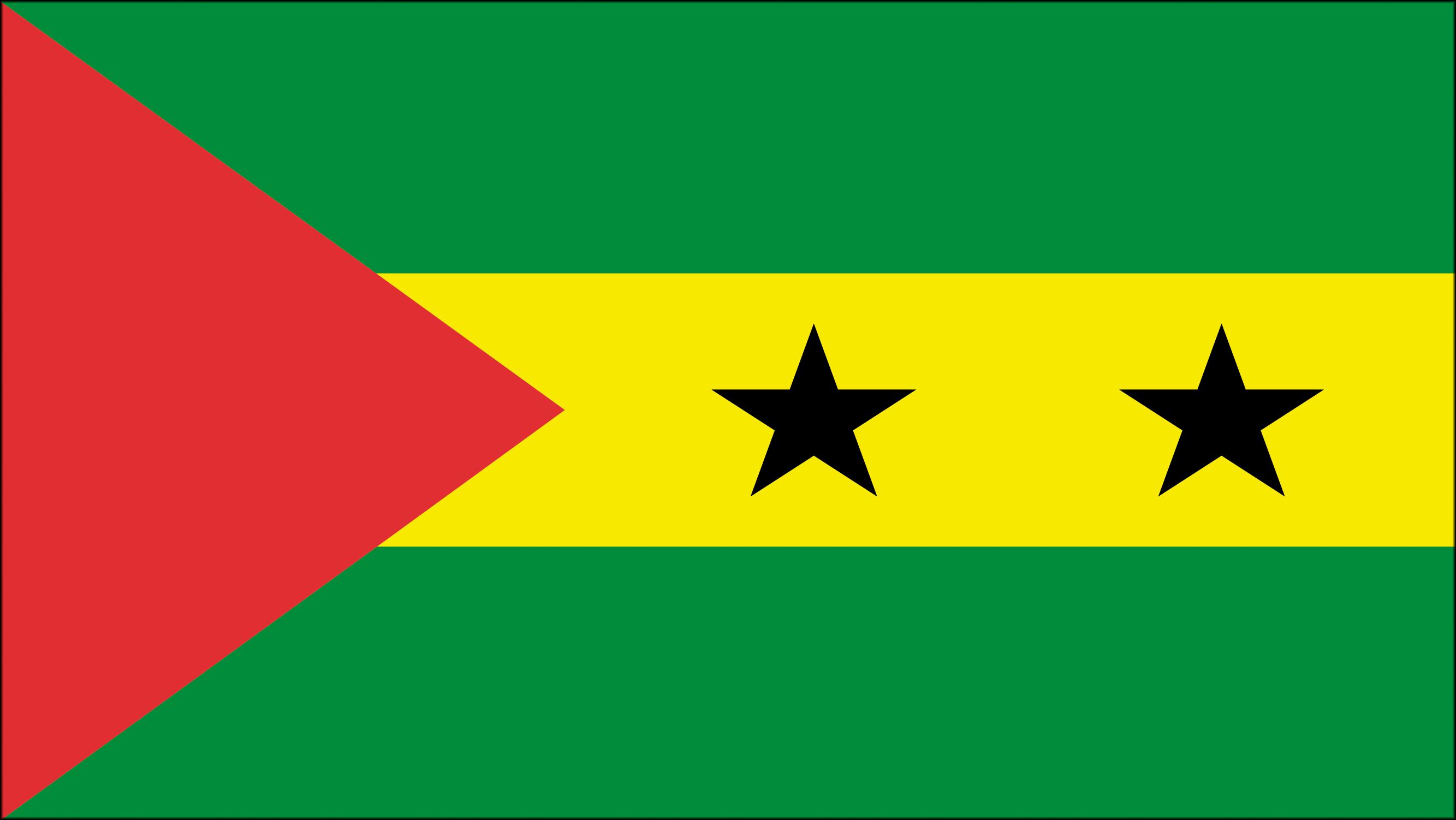 Bandera de Santo Tom y Prncipe  Banderas y escudos  Pinterest