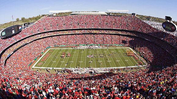 Arrowhead stadium seating chart pictures directions and history