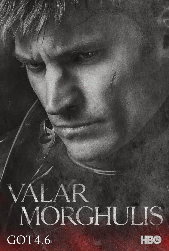Game Of Thrones Season Character Poster Valar Morghulis With