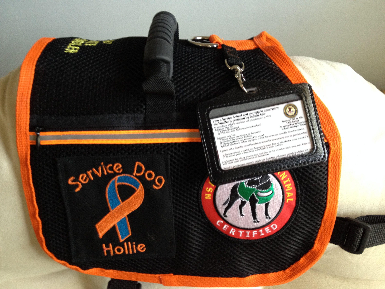 Custom made service dog vest custom made service dog