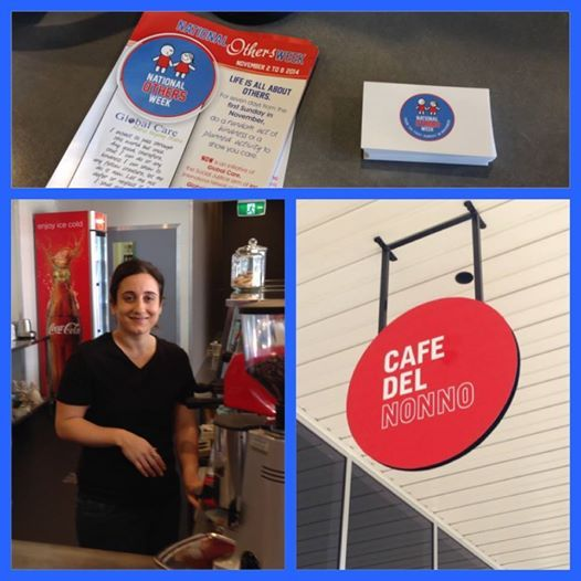 As part of #nationalothersweek we have paid for the next 100 coffees at cafe del nonno in South Penrith, if your in the area why not grab some friends and enjoy a coffee on us! #NOW2014 #empowerchurchpenrith