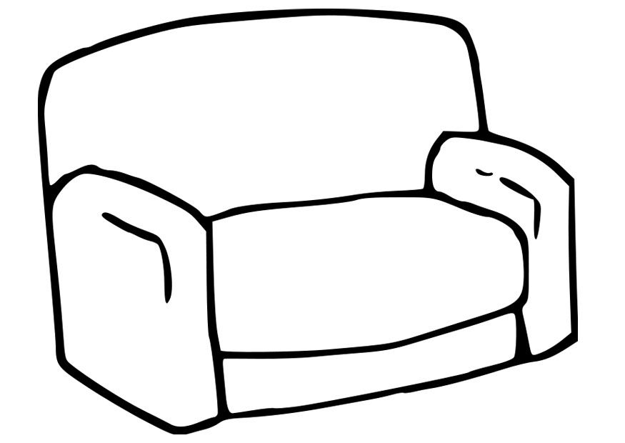Coloring Page Of A Couch Bing Images Rectangle Glass Color Glass