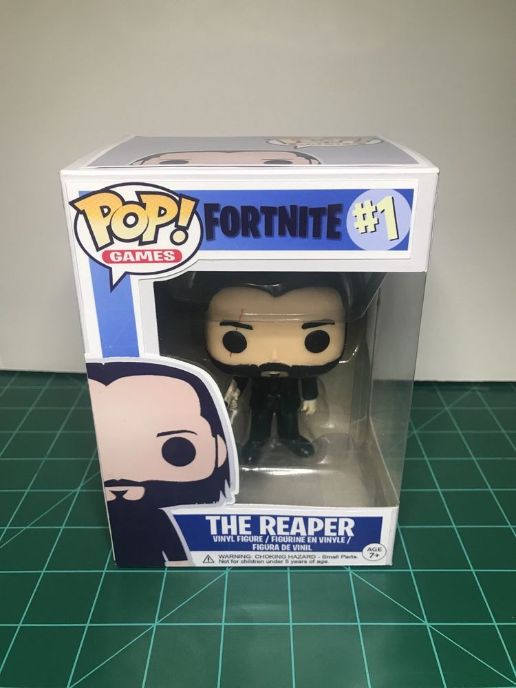 Custom Funko Pop The Reaper Fortnite Fortnite Gifts
