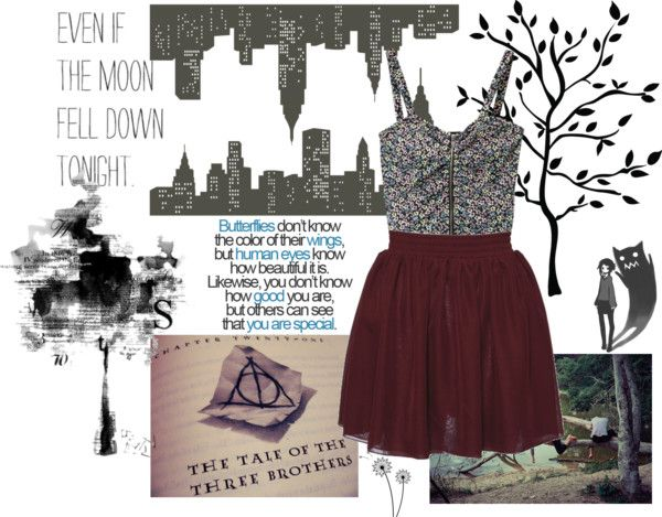 """New York Trees"" by egwhitlow on Polyvore"