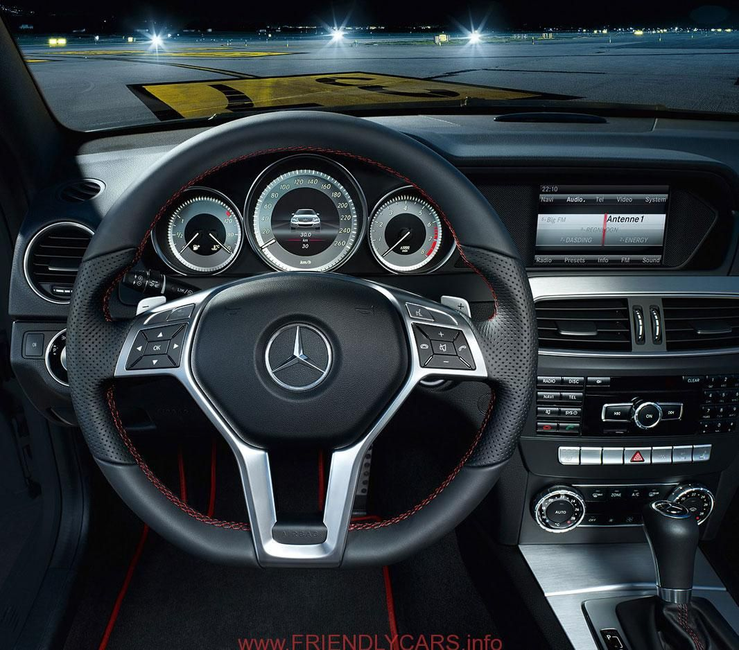 Awesome Mercedes C Class Interior Back Seat Car Images Hd 2013