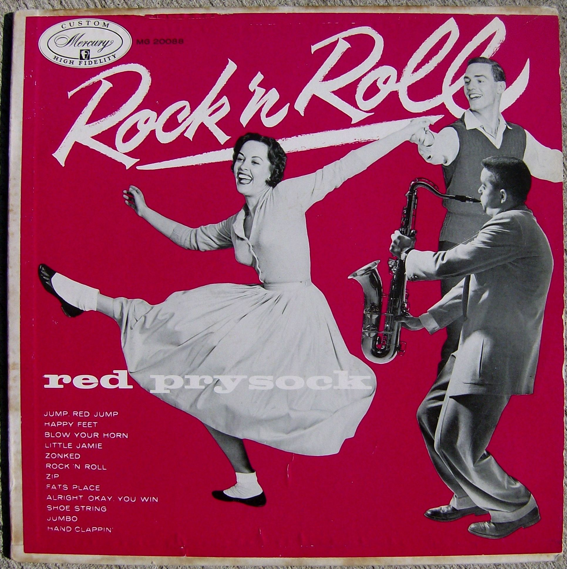 All sizes | Red Prysock / Rock 'n Roll | Flickr - Photo Sharing!