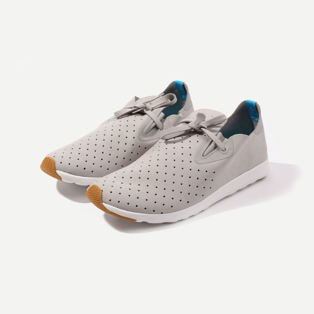 Native shoes Native apollo moc - pigeon grey/shell white · Shoes  SportSneaker ...