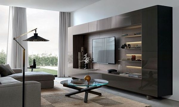 40 Unique Tv Wall Unit Setup Ideas Ekstrax Living Room Wall Units Modern Wall Units Wall Unit
