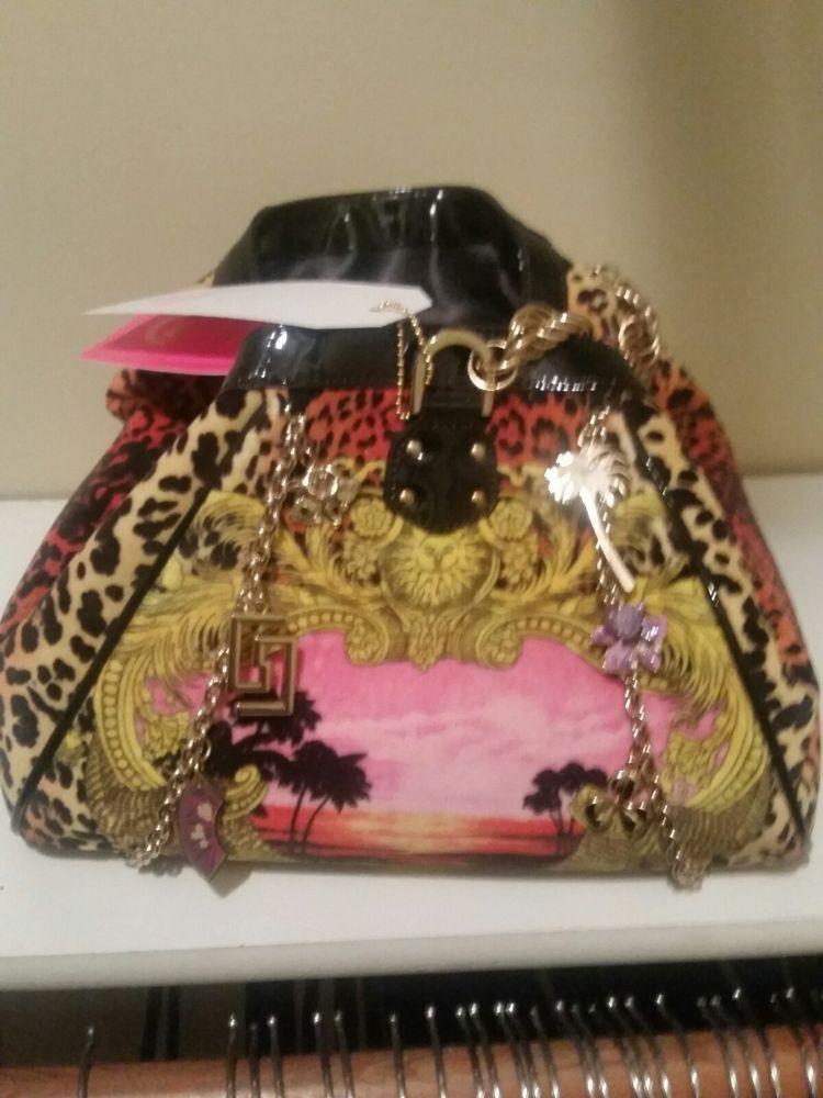 2296e183bdf7 New Versace H M Leopard Handbag Purse BNWT Limited Collection  Versace   EveningBag