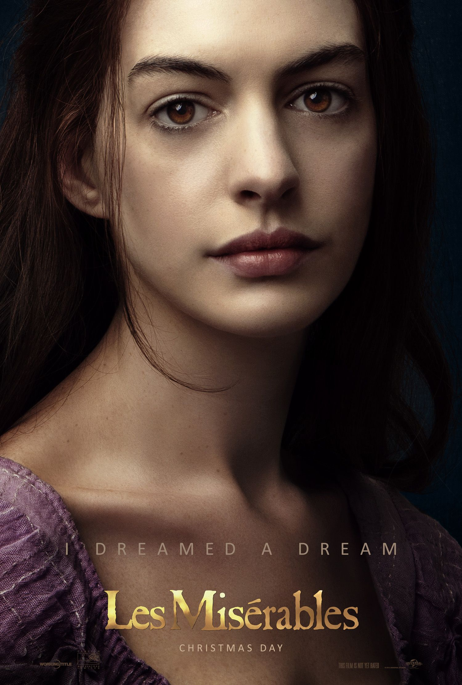 I Dreamed A Dream Anne Hathaway As Fantine In Lesmis This
