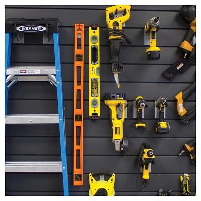 Proslat 4 Ft Gray Wall Panel Kit In 2020 Wall Storage Systems Slat Wall Wall Storage