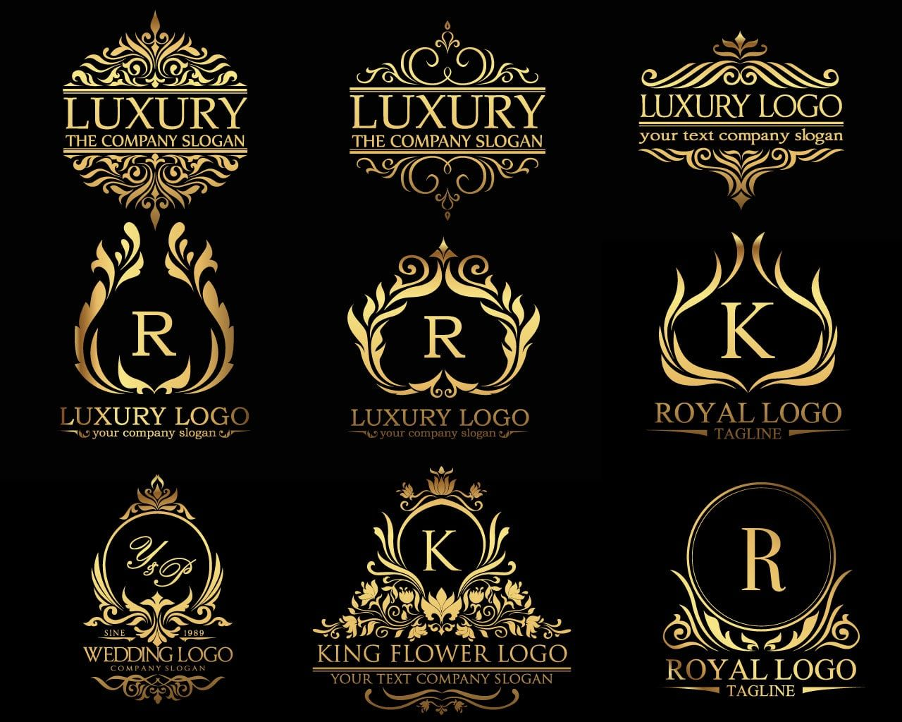 Design Luxury Classic Royal Logo Luxury Logo Royal Logo Luxury Logo Design