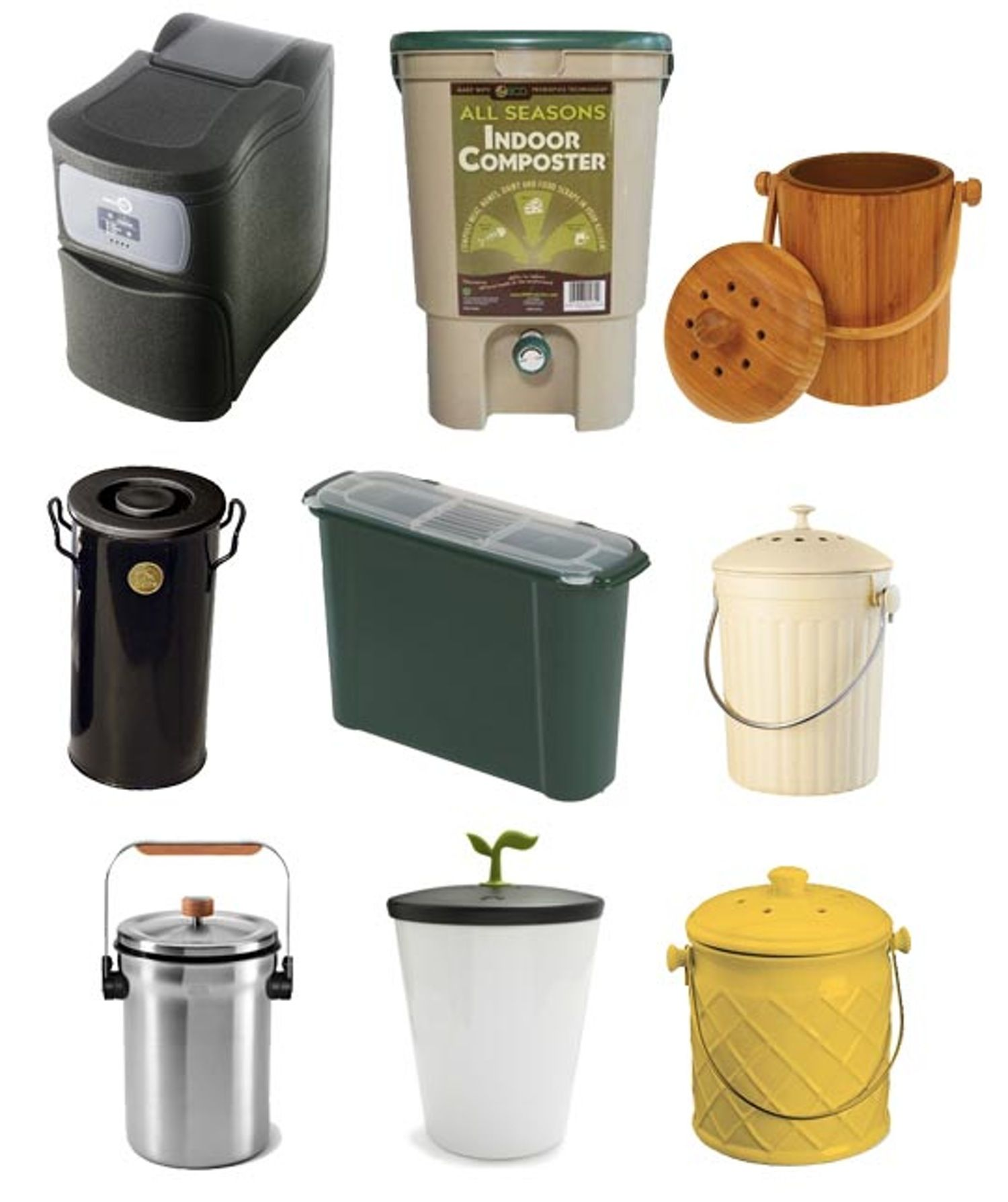 Best Small Space Compost Bins 2012 | Composting, Small spaces and ...
