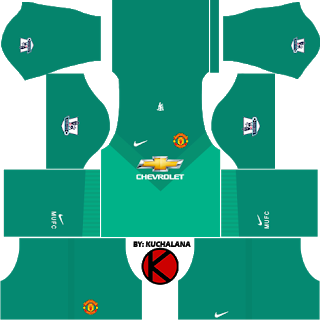 Manchester United Dream League Soccer Kits 2019 2020 Terbaru