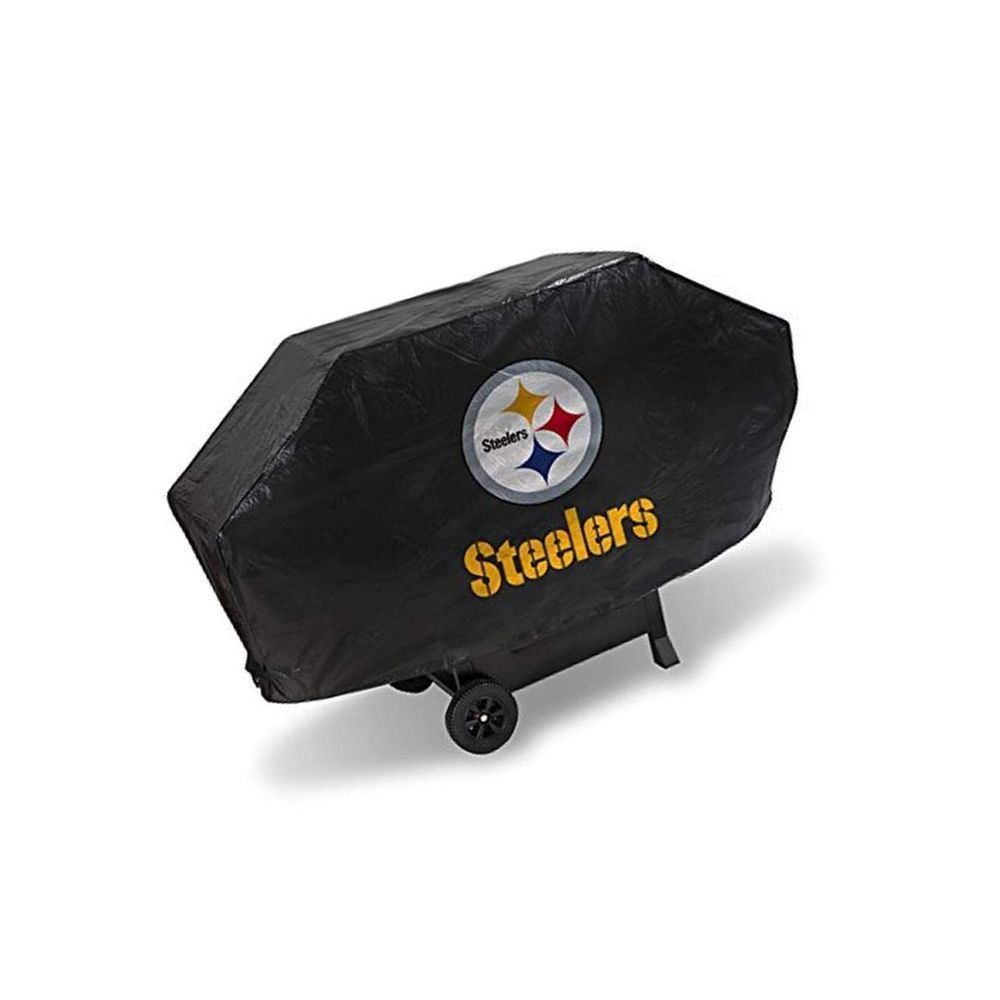 Rico Industries Nfl Pittsburgh Steelers Vinyl Padded Deluxe Grill