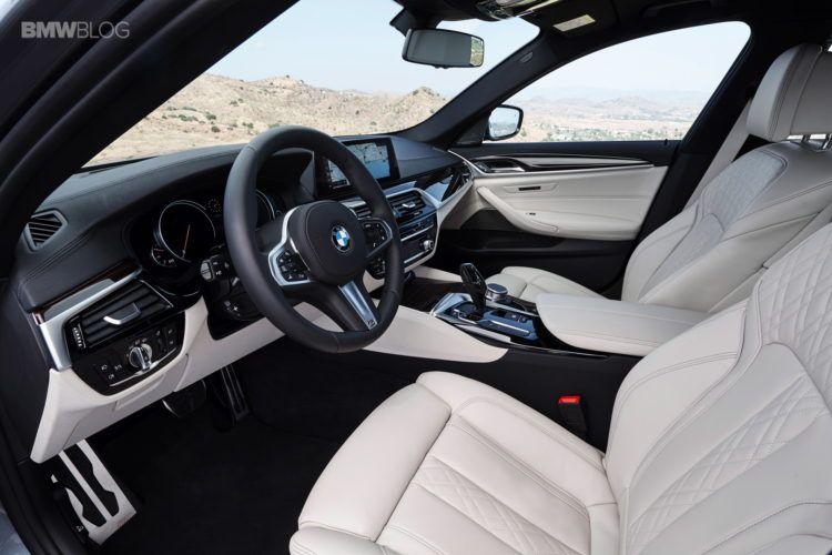 BMW-G30-5-Series-M-Sport-interior-31 | BMW G30 | Bmw 5 series, 2017