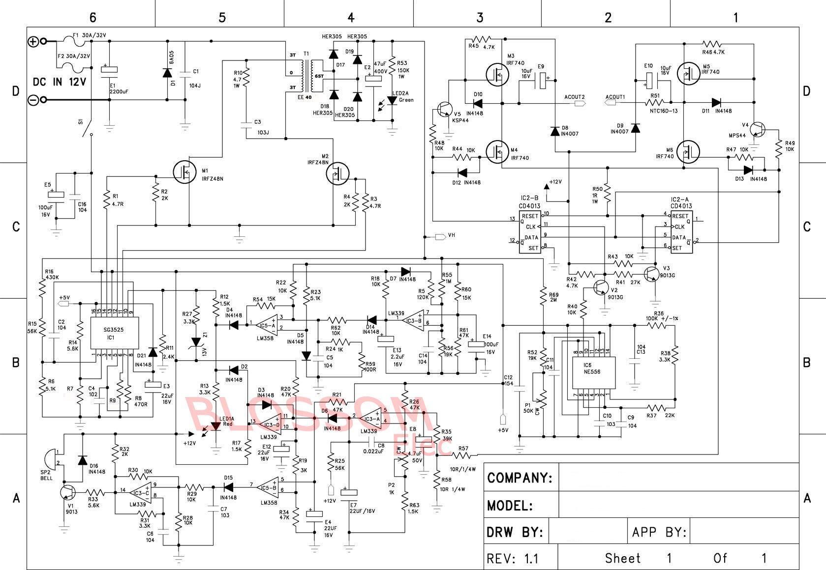 efie and pwm wiring diagram for hho systems humbucker kit solved dc to ac inverter h bridge denenecek projeler