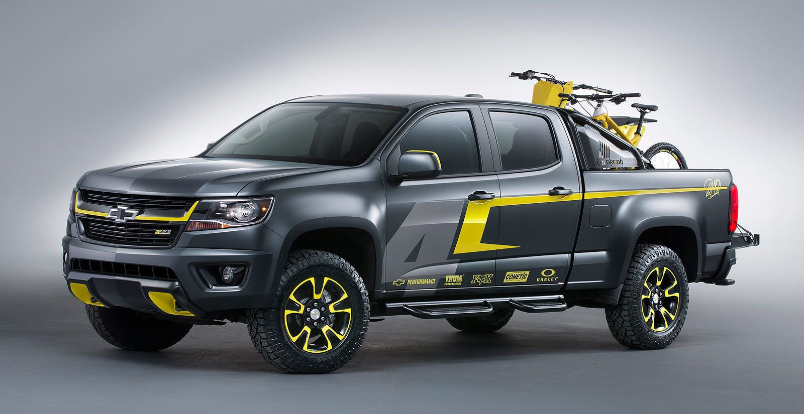 Chevrolet ricky carmichael chevy performance sema concept truck