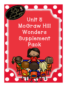 This bundle includes supplementary materials for First Grade Reading Wonders Unit 5. This bundle includes many FUN dittos to help review skills and words for each week! Also includes selection test with answer key!Stories:Week 1- A Lost ButtonWeek 2- Kitten's First Full MoonWeek 3- Thomas Edison, InventorWeek 4- Whistle for WillieWeek 5- Building BridgesEach Story includes:*Weekly Newsletter*Spelling Scramble*Spelling Word Search*Phonics Worksheets*Structural Analysis Worksheets*Color by…
