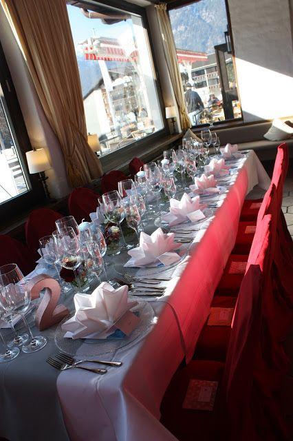 Tischdekoration Winterhochzeit In Den Bergen Am Riessersee Hotel