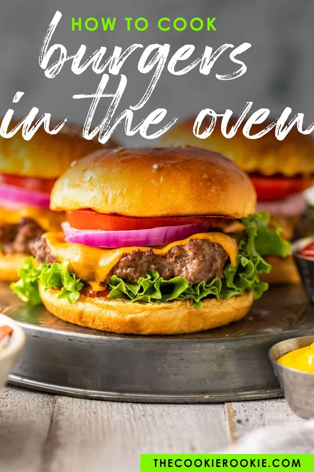 How to cook burgers in the oven learn to broil hamburgers