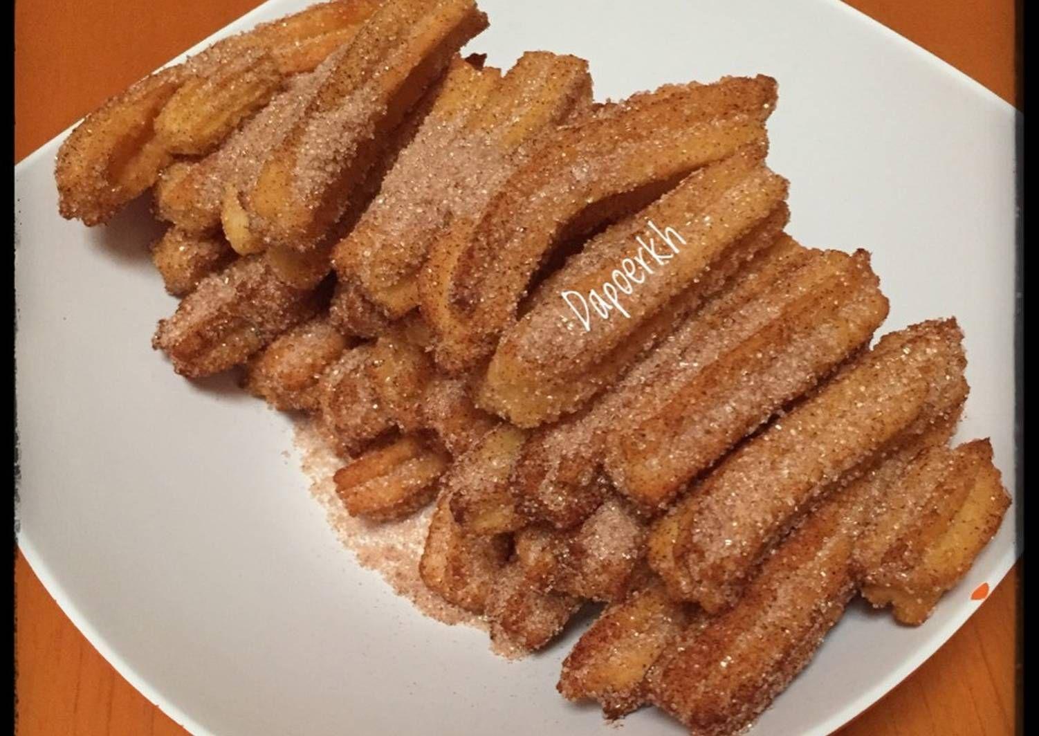 Resep Churros Cheese Cinnamon Postingrame2 Gorengan Oleh Kristina Heryawati Resep Resep Makanan Churros Makanan