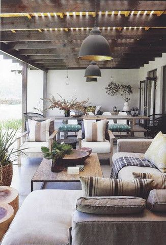Superieur Backyard · Vintage Industrial Interior Design Blog ...