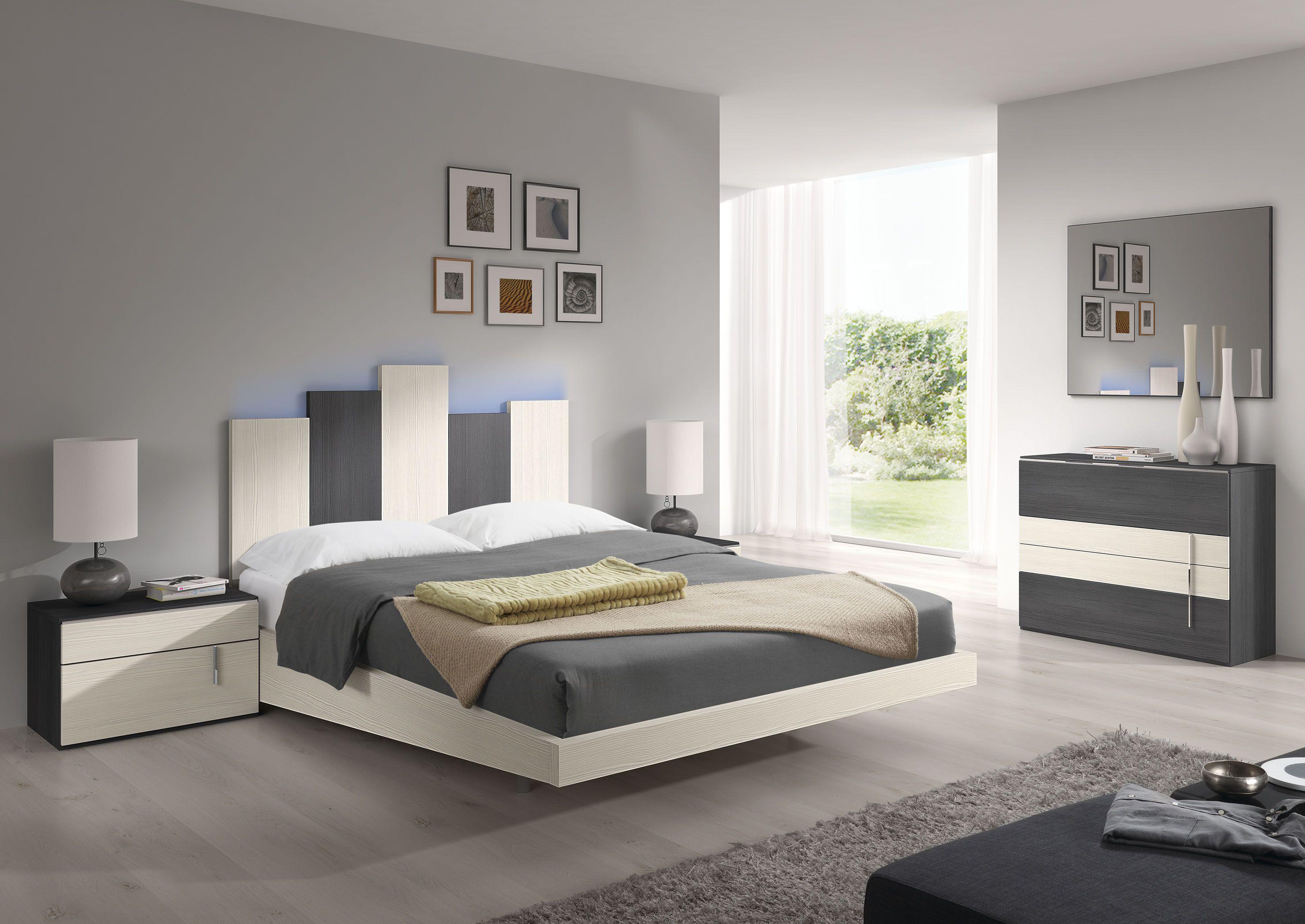 . Dormitorio de matrimonio  modelo Chicago   habitaciones in 2019