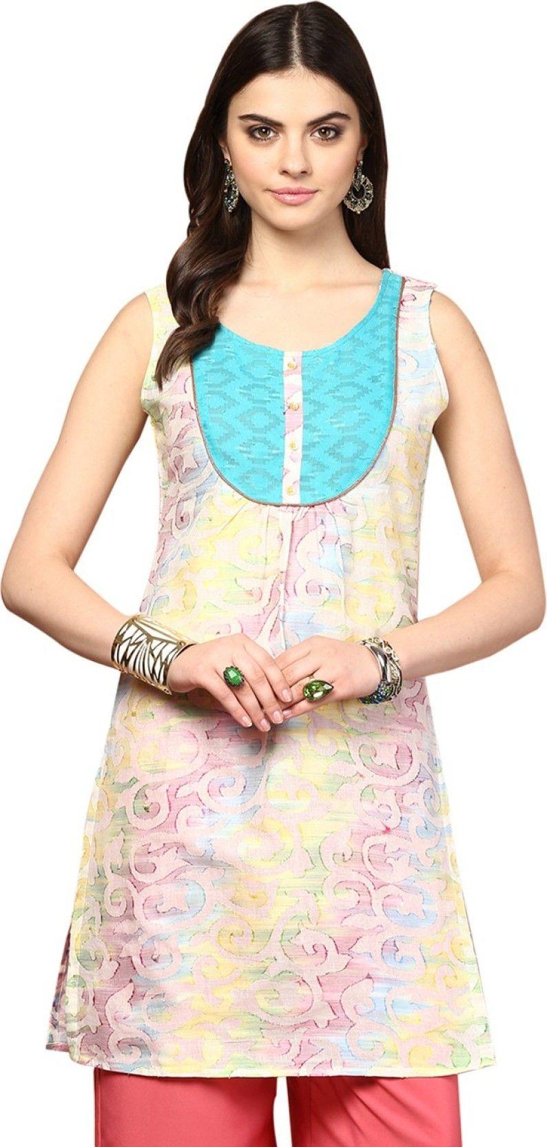 137c86128 Yepme Casual Printed Women s Kurti - Buy Multicolor Yepme Casual Printed  Women s Kurti Online at Best Prices in India