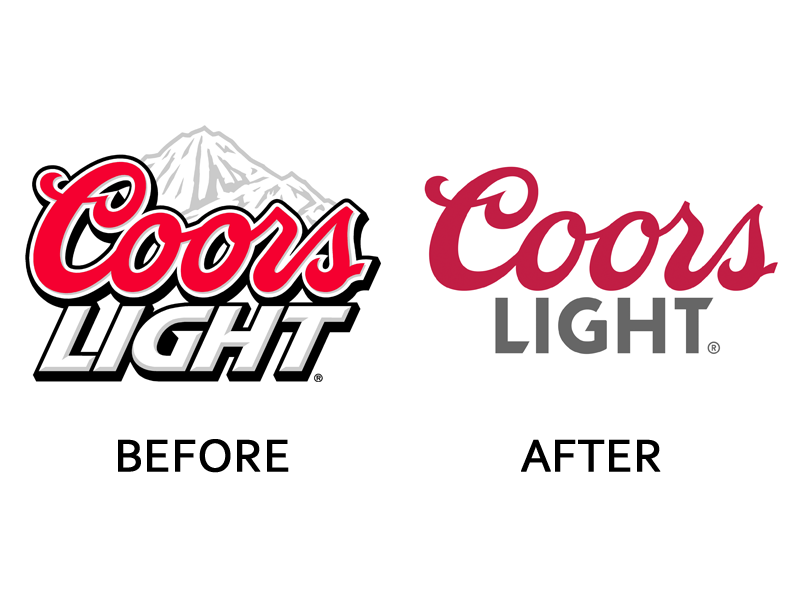 Did You Notice That These 20 Companies Changed Their Logos This Year Logos Coors Light Corporate Logo