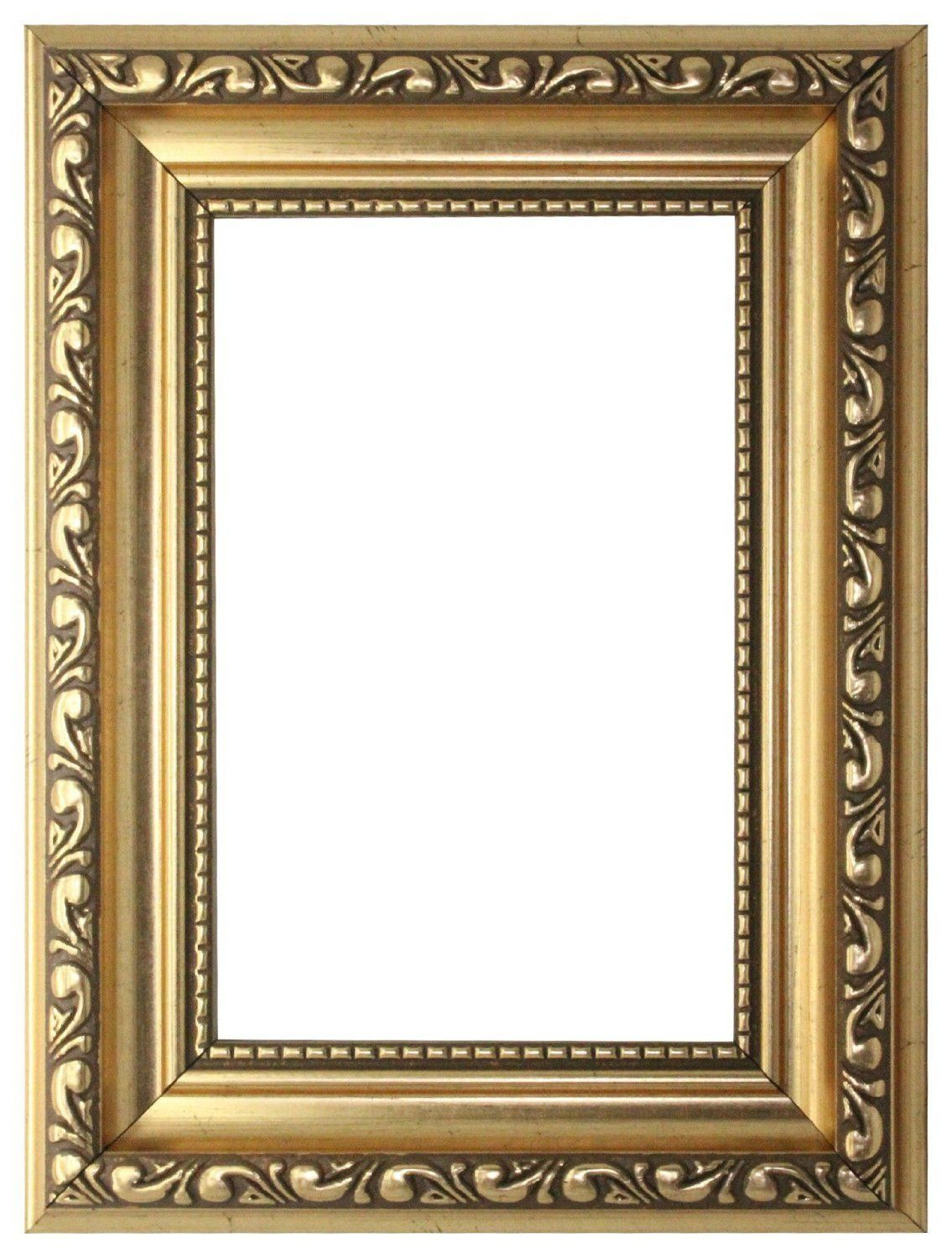 Bilderrahmen A1 Gold A1 Ready To Hang Ornate Shabby Chic Picture Photo
