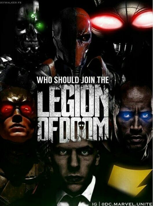 Who should join the legion of Doom   DC   Comic book ...