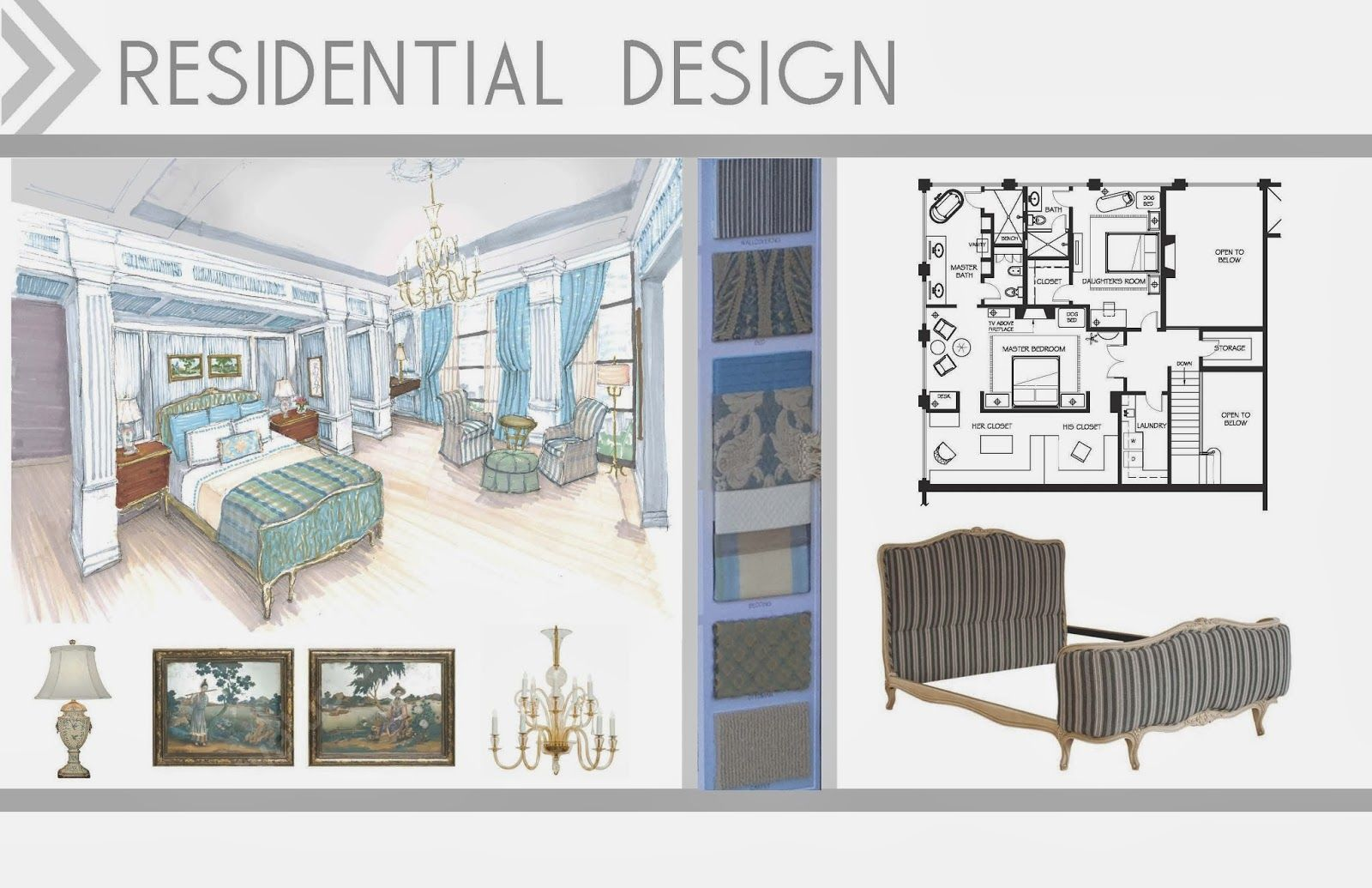 Attractive interior design student portfolio book taking for Interior design layout inspiration
