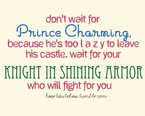 Charming Quotes For Waiting My Prince